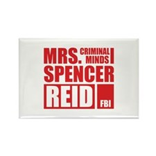 Mrs. Spencer Reid Rectangle Magnet