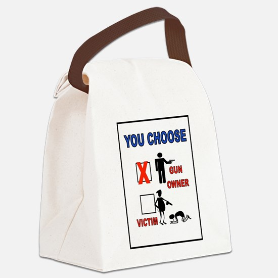 YOUR CHOICE Canvas Lunch Bag