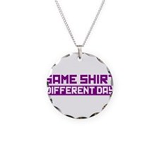 Same Shirt Different Day Necklace