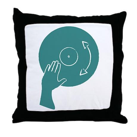 How To DJ Throw Pillow