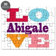 I Love Abigale Puzzle