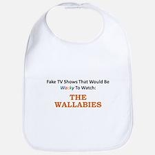Fake TV Shows Series: THE WALLABIES Bib