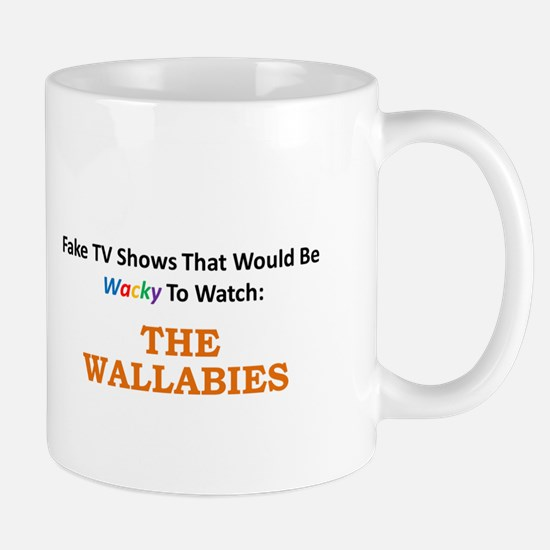 Fake TV Shows Series: THE WALLABIES Mug