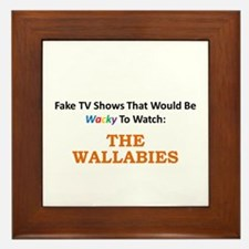 Fake TV Shows Series: THE WALLABIES Framed Tile