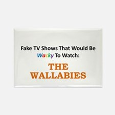 Fake TV Shows Series: THE WALLABIES Rectangle Magn