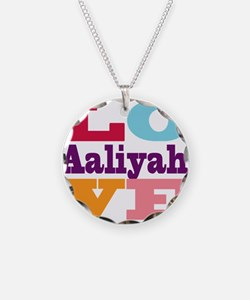 I Love Aaliyah Necklace