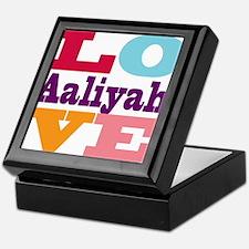 I Love Aaliyah Keepsake Box