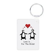 Love For Birds Penguins Keychains