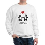 Love For Birds Penguins Sweatshirt