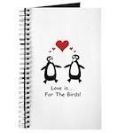 Love For Birds Penguins Journal