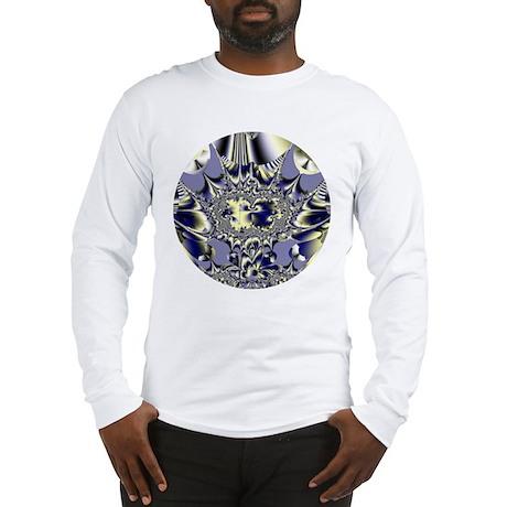 Purple Chaos Long Sleeve T-Shirt