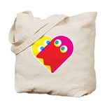 Ghost Heart Tote Bag