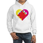 Ghost Heart Hooded Sweatshirt