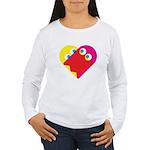 Ghost Heart Women's Long Sleeve T-Shirt