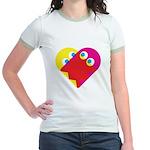 Ghost Heart Jr. Ringer T-Shirt