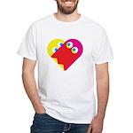 Ghost Heart White T-Shirt
