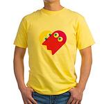 Ghost Heart Yellow T-Shirt
