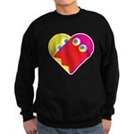 Ghost Heart Sweatshirt (dark)