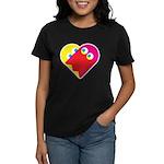 Ghost Heart Women's Dark T-Shirt