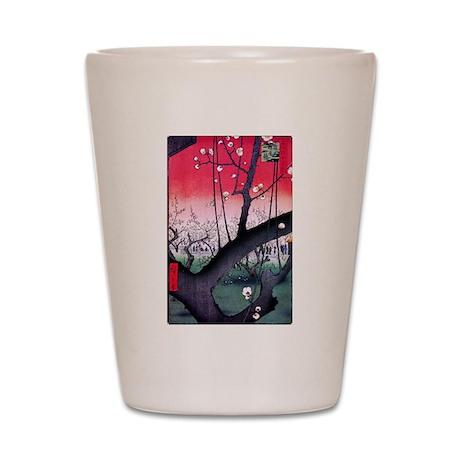 Hiroshige Kameido Shot Glass