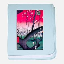 Hiroshige Kameido baby blanket