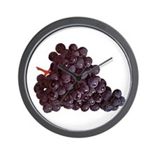 Grape Bunch Wall Clock