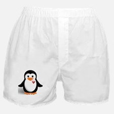 penguin with heart Boxer Shorts