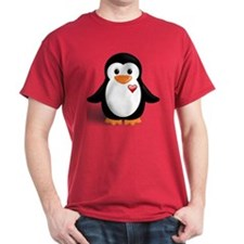 penguin with heart T-Shirt