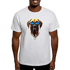 GREAT DANE DAKINE DOG! Ash Grey T-Shirt T-Shirt
