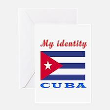 My Identity Cuba Greeting Card