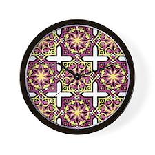 Circles & Squares Wall Clock
