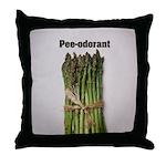 Asparagus Pee Throw Pillow