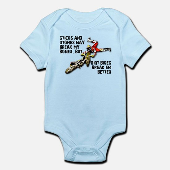 Dirt Bike Baby Clothes Cafepress