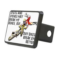 Sticks And Stones Dirt Bike Motocross T-Shirt Rect