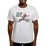 Dirt bike Mens Light T-shirts