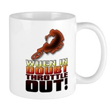 When In Doubt Throttle Out ATV Quad Off Road Mug