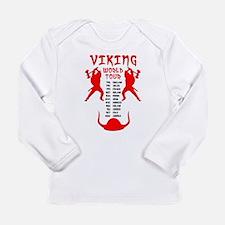 Viking World Tour Funny Norse T-Shirt Long Sleeve