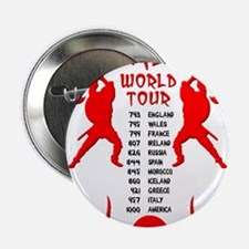"Viking World Tour Funny Norse T-Shirt 2.25"" Button"
