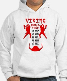 Viking World Tour Funny Norse T-Shirt Jumper Hoodie