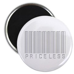 Priceless (Barcode) Magnet