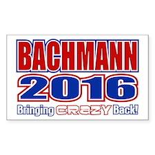 Bachmann President 2016 Crazy Back Decal