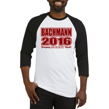 Bachmann President 2016 Crazy Back Baseball Jersey