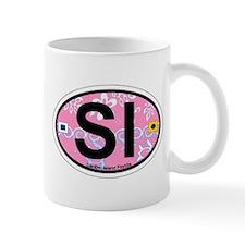 Sanibel Island - Oval Design. Mug