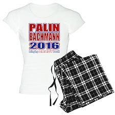 Bachmann Palin President 2016 Crazy Back Pajamas