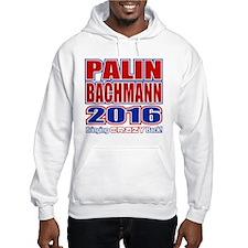 Bachmann Palin President 2016 Crazy Back Jumper Hoody