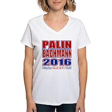 Bachmann Palin President 2016 Crazy Back Shirt