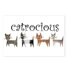 Catrocious Postcards (Package of 8)