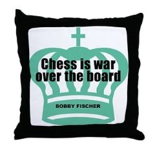 Fischer War Throw Pillow