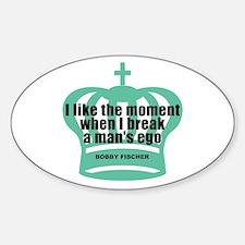 Fischer Ego Oval Bumper Stickers