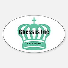 Fischer Life Oval Bumper Stickers
